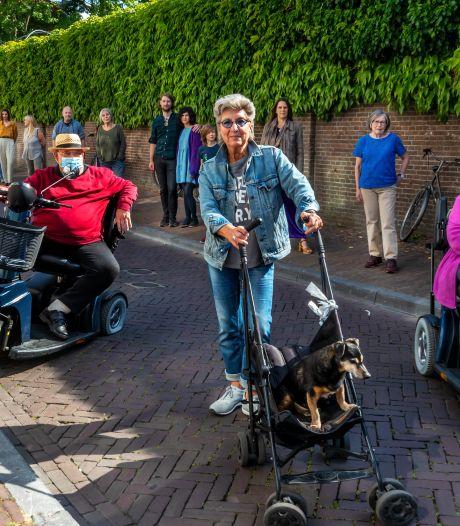 Gemeente zwicht voor druk bewoners: geen fietsenzee voor woningen Springweg