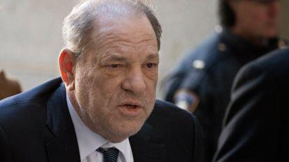 Harvey Weinstein uit coronaquarantaine
