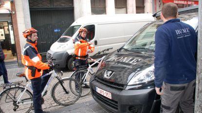 Fietsbrigade schrijft 303 boetes uit in het centrum