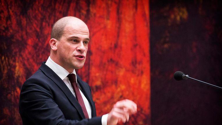 PvdA-leider Samsom. Beeld anp