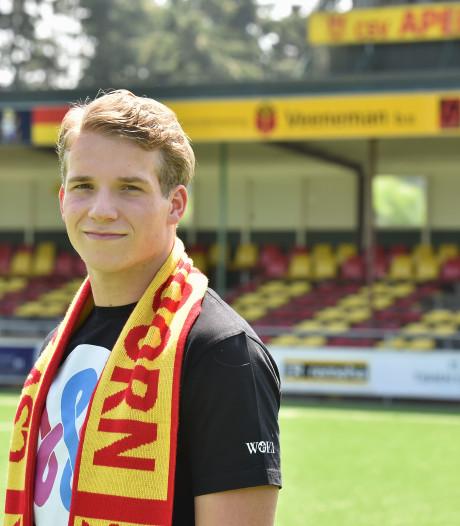 Luca Bouwmeester van eigen jeugd naar selectie CSV Apeldoorn