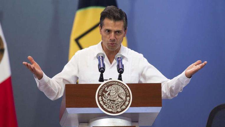 President Enrique Peña Nieto van Mexico Beeld reuters