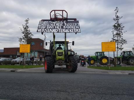 Boerenprotest vanuit Kampen groter dan verwacht