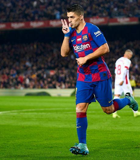 Suárez noemt fabuleuze hakgoal zijn mooiste doelpunt ooit