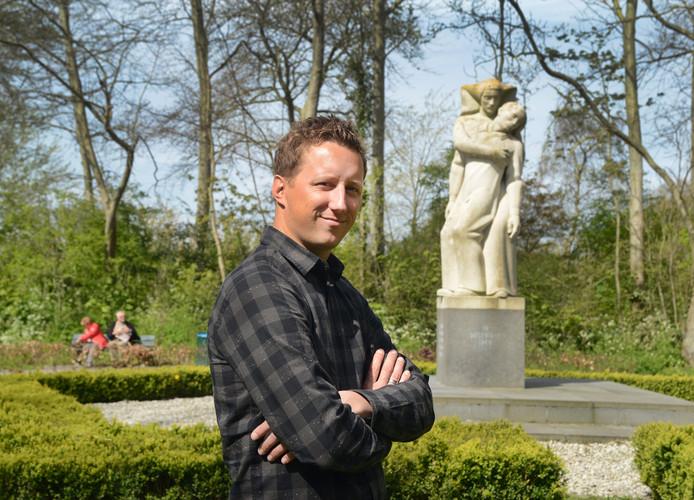 Filmmaker Tjeerd Muller van De Tien van Renesse.