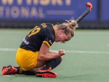 Weerbare hockeydames Den Bosch forceren beslissingsduel in halve finale play-offs