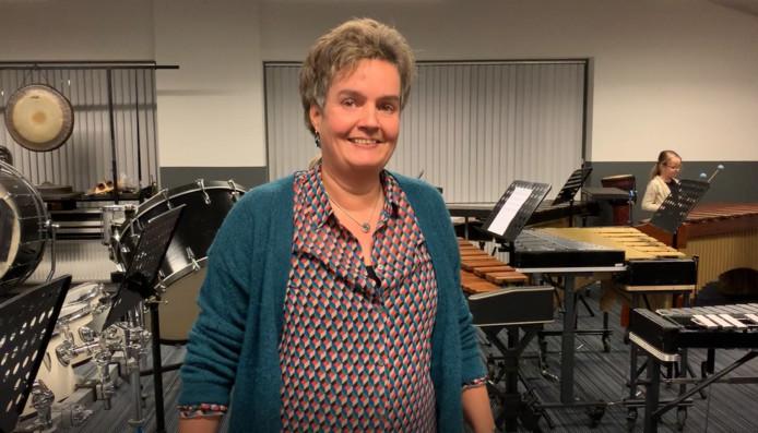 Heidi van het Elspeets Fanfare Korps (EFK).