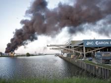 Partijen kritisch over communicatie bij brand Oosterhout