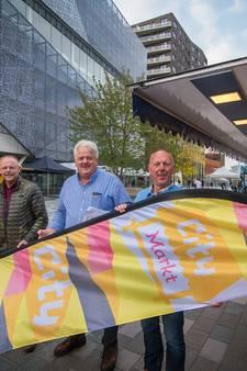 Weekmarkt Nieuwegein op proef naar plein tussen stadhuis en De Kom