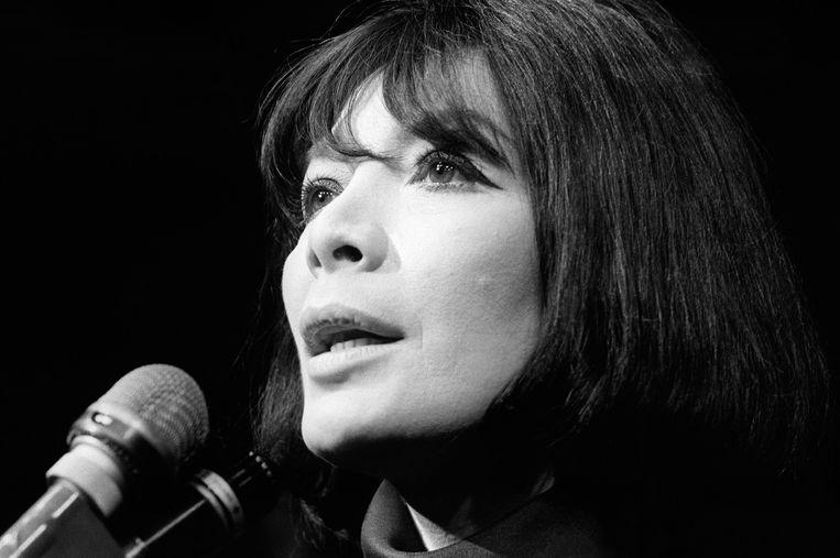 Juliette Gréco in 1968. Beeld AFP