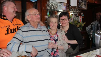 Oudste cafébazin viert 90ste verjaardag
