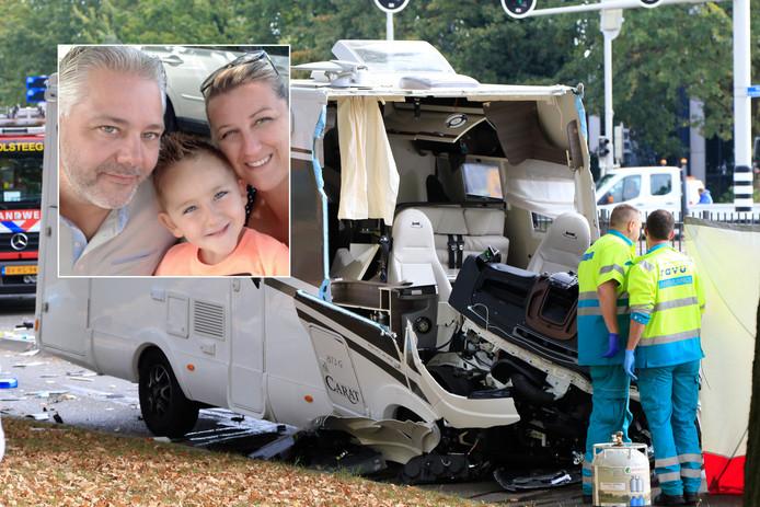 Dodelijk ongeluk met camper in Utrecht na botsing met trein. Inzet: het Belgische gezin
