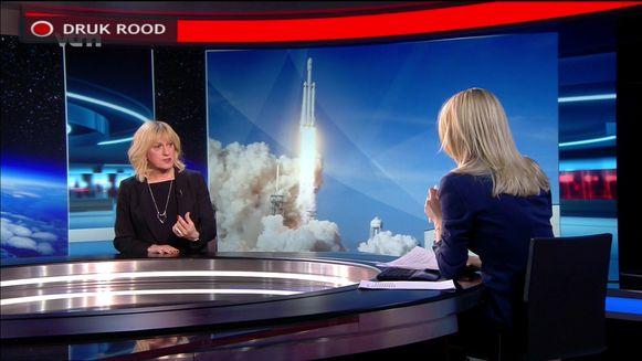 Bo bracht verslag uit van de Falcon Heavy, gisteravond gelanceerd door SpaceX, het ruimtevaartbedrijf van Elon Musk.