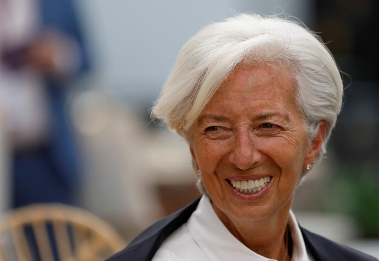 Christine Lagarde is de nieuwe baas van de Europese Centrale Bank.