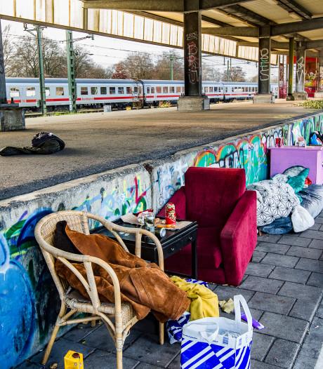 Dit is de mini-vrijstaat van zwervers in Deventer