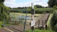 Fiets- en wandelbrug over oude Leie aan André Demedtshuis tijdelijk afgesloten