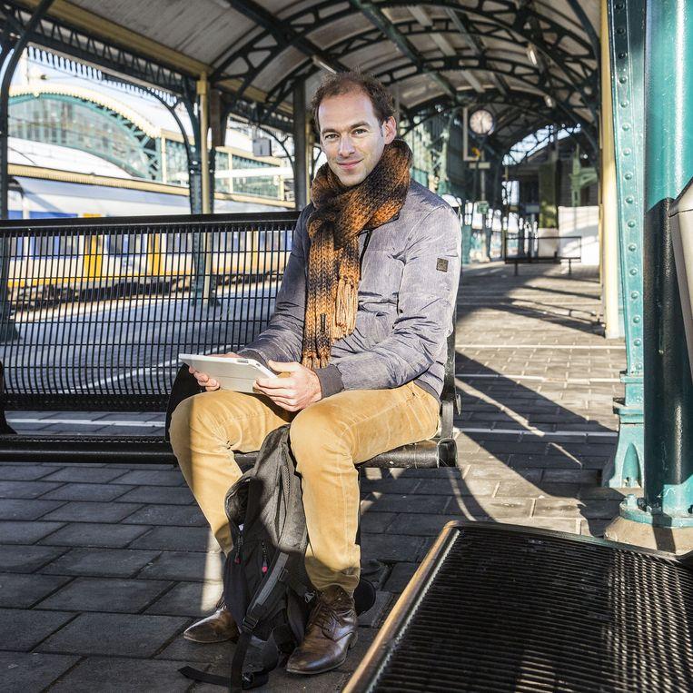 Thijs Winthagen (37), Tilburg. Beleidsmedewerker personeelszaken bij de gemeente Den Bosch en als zzp'er adviseur arbeidsverhoudingen. Beeld Arie Kievit