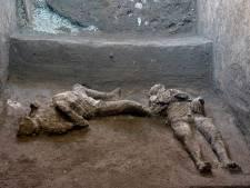 Archeologen vinden resten rijke man en slaaf in Pompeï