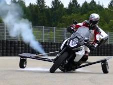 Stuwraketten moeten motorfietsen veiliger maken