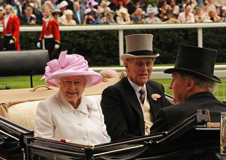 De Britse koningin Elizabeth. © epa Beeld