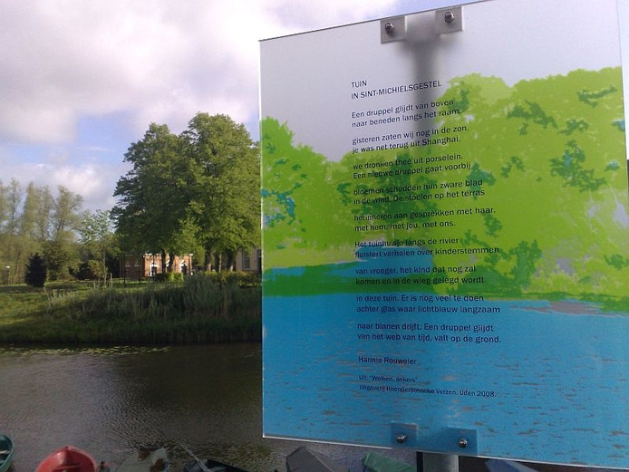 Gedichten Aan De Dommel In Sint Michielsgestel Den Bosch