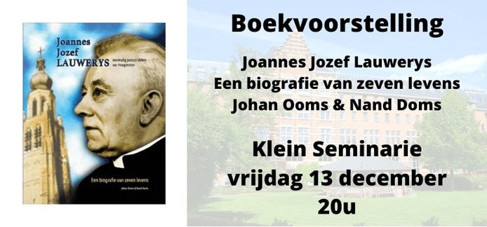 Deken Lauwereys krijgt een eigen boek dankzij Johan Ooms en Nand Doms.