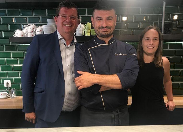 De Italiaanse chef Vito Centomani opent in de Christinastraat een nieuw restaurant Resto Vito