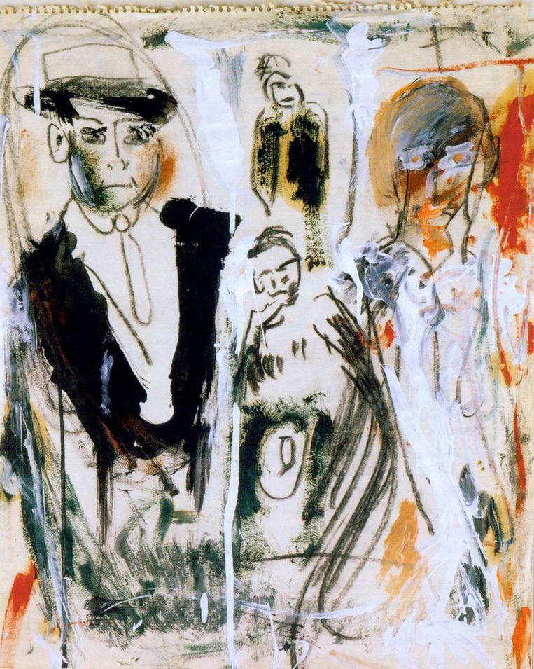 'The Slouch Hat' van Jack Kerouac Beeld -