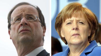 Hollande maandag op afscheidsbezoek bij Merkel