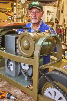 Speciaal nagemaakt voor Market Garden: scooter die uit het vliegtuig werd gegooid