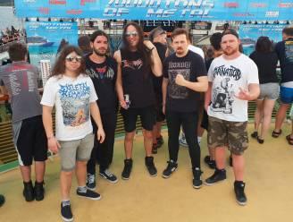 """Belgische Carnation speelde op grootste metalcruise ter wereld: """"Wij willen leven van onze deathmetal"""""""