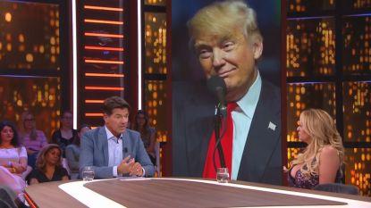 "Stormy Daniels te gast bij Nederlandse talkshow RTL Late Night : ""Wat ik weet kan Trump ten val brengen"""