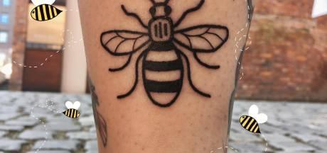 Aanslag Manchester wordt herdacht met tattoos