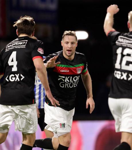 NEC sluit 2019 af met grote zege bij FC Eindhoven