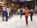 Een dansvoorstelling