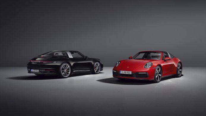 De nieuwe Porsche 911 Targa