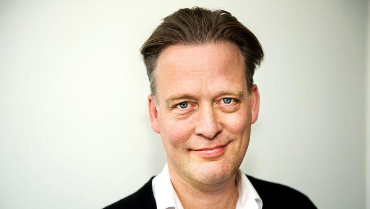 Schrijver Erik Jan Harmens. Beeld  Sanne De Wilde