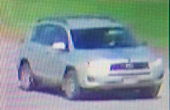 De grijze Toyota 4 die volgens de politie werd gebruikt door de tieners als vluchtauto na de moord de op toeristen.