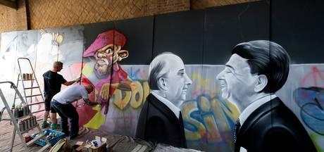 VIDEO: 90 vierkante meter aan graffiti voor het Noordbrabants Museum