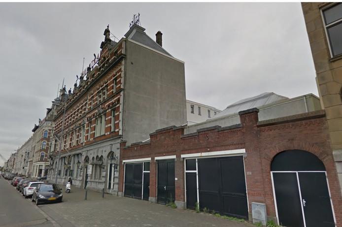 Het Hulstkamp-gebouw op het Noordereiland.