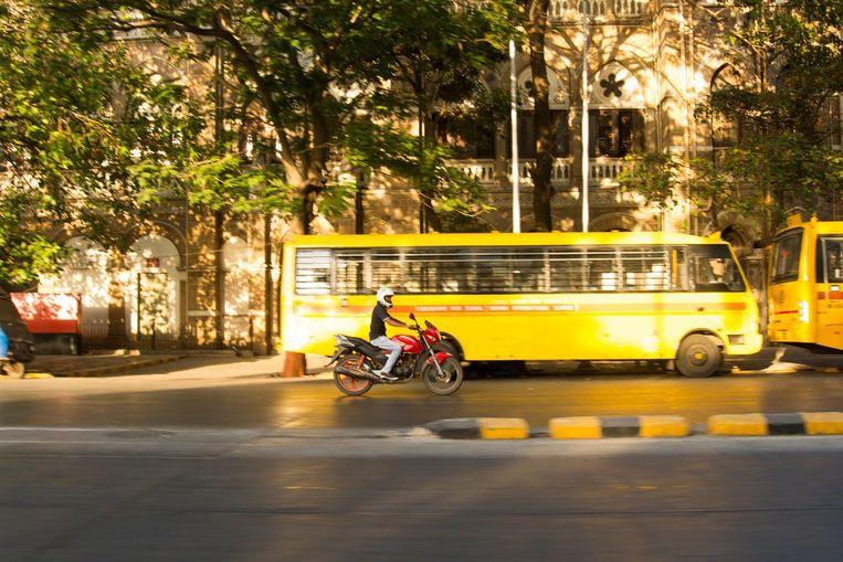De zeeboulevard in Mumbai Beeld Lisa Klaverstijn