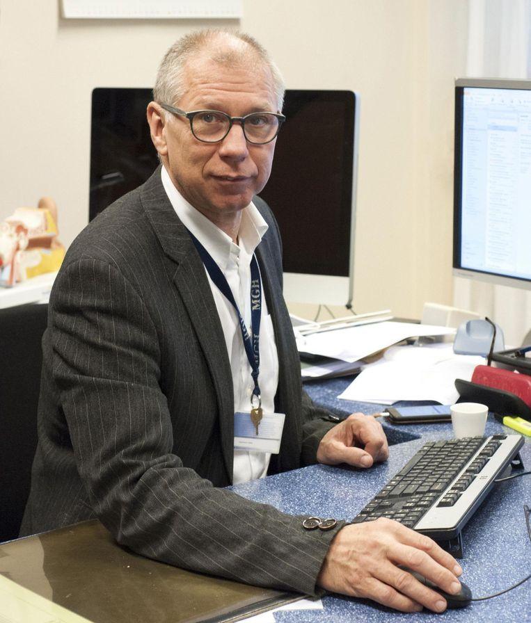 KNO-arts Marco Franken. Beeld Ruud van de Voorde