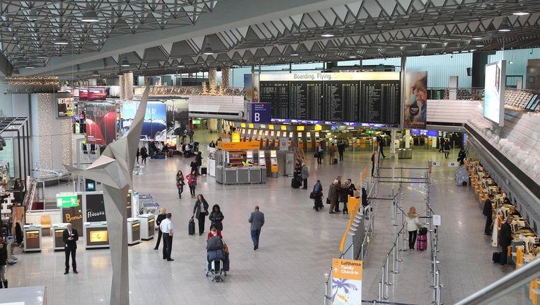 De luchthaven van Frankfurt op archiefbeeld. Beeld afp