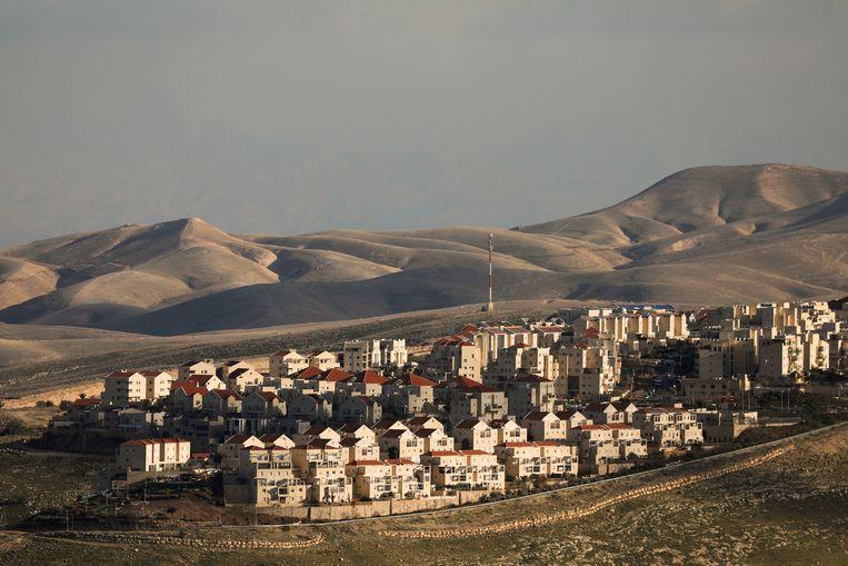 Joodse nederzettingen in de Westelijke Jordaanoever.