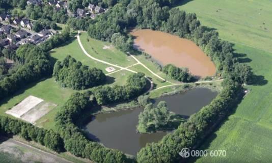 Het Wolfsweidepark in Rijen.