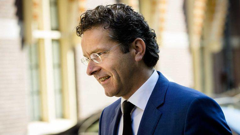 Minister Jeroen Dijsselbloem van Financiën Beeld anp
