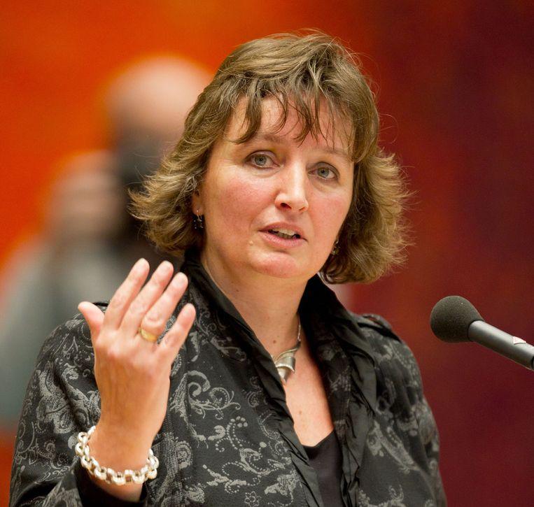 Minister Liesbeth Spies van binnenlandse zaken. Beeld ANP