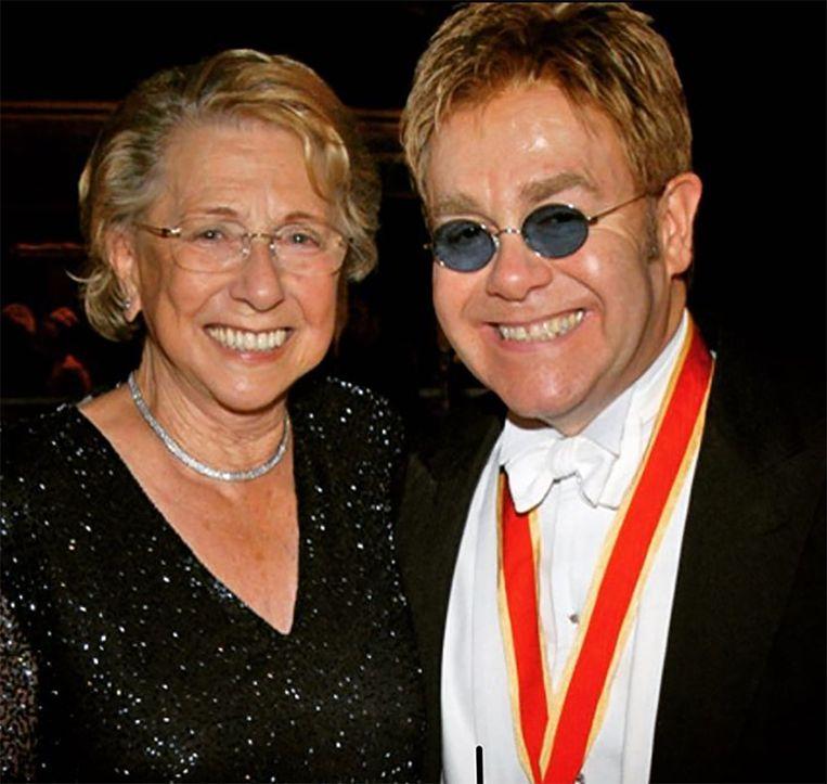 Elton en zijn moeder