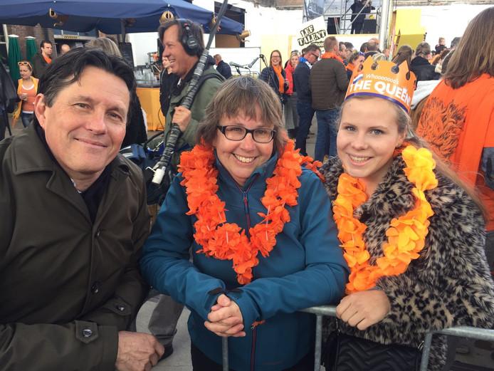 Joep (57), Mirjam (52) en Ireen (17) uit Tilburg.