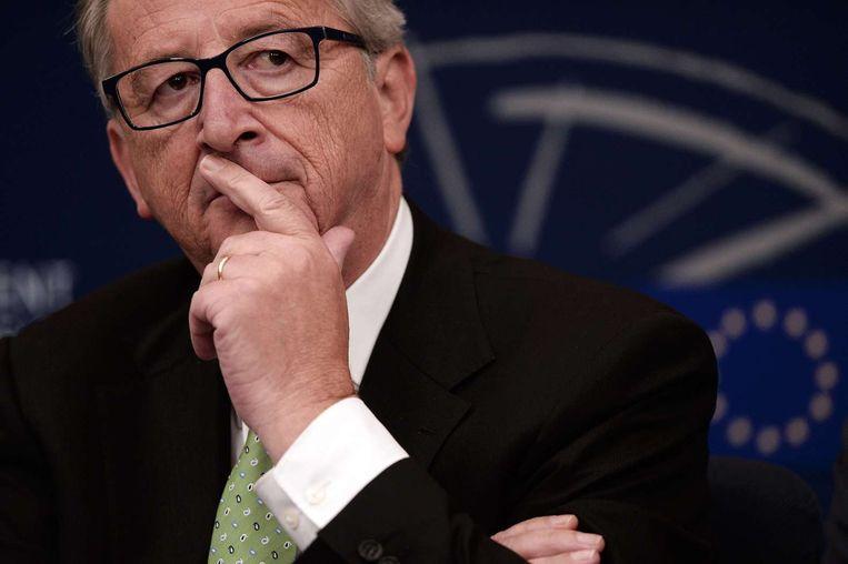 Jean-Claude Juncker Beeld AFP